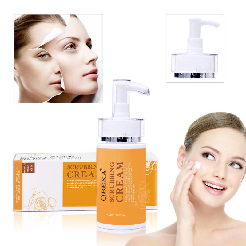 face scrubbing cream