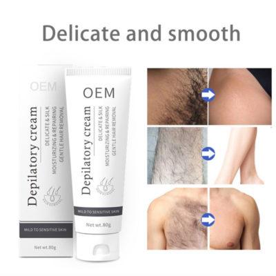 Depilatory Cream,Soft, Smooth Feeling,OEM