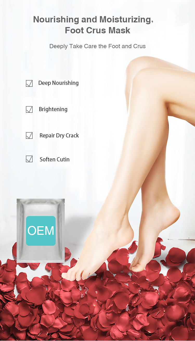 foot mask,removal of dead skin and cutin,moisturizing, whitening and skin rejuvenation